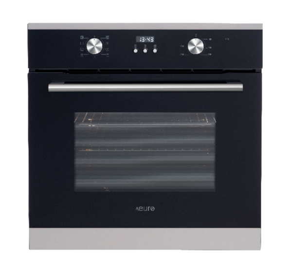 Euro Appliances EO608SX Black & Stainless Steel Electric Oven