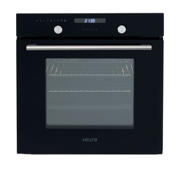 Euro Appliances EO60M8SX Black & Stainless Steel Electric Oven