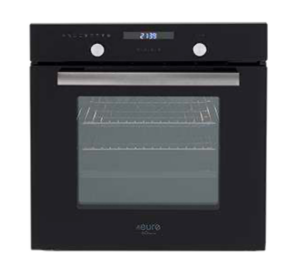 Euro Appliances EV60M8SX Black & Stainless Steel Electric Oven