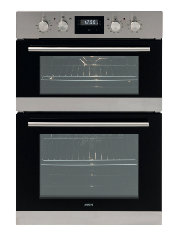 Euro EO8060DX Electric Multifunction Duo Wall Oven