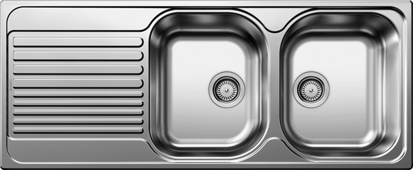 Blanco TIPO8SR Double Bowl Stainless Steel Sink