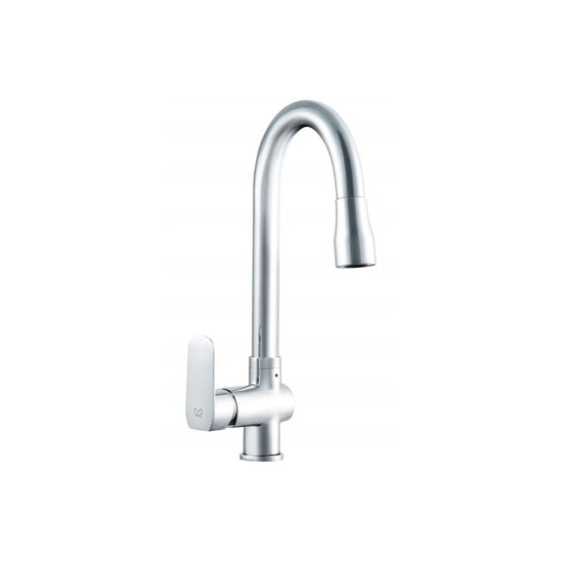 Robinhood TPO1300 Pull Out Chrome Mixer Tap