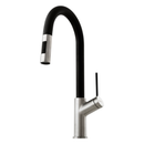 Oliveri VT0426B Brushed Chrome Vilo Pull Out Tap