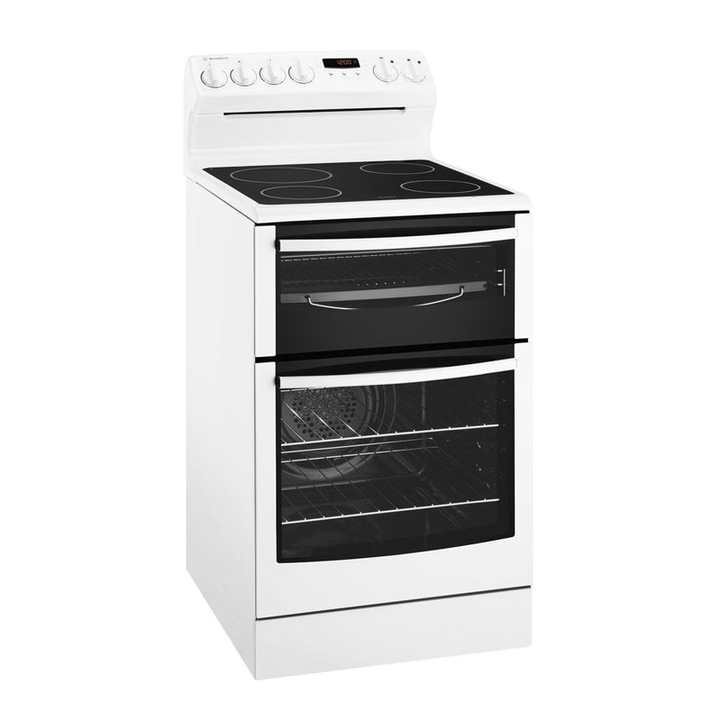 Westinghouse WLE547WA 54cm Freestanding Electric Oven/Stove - Westinghouse Seconds Stock