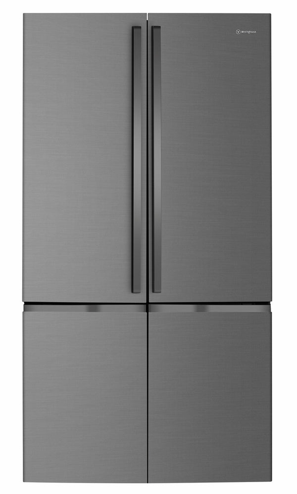 Westinghouse WQE6000BB 600L Dark Stainless Steel French Door Fridge - Westinghouse Seconds Stock