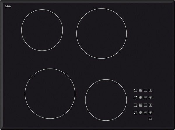 Baumatic 70cm Touch Control Ceramic Cooktop | BACE7004
