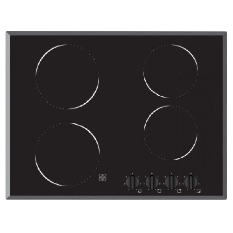 Baumatic BCE7001.1 70cm 4 Burner Electric Ceramic Cooktop