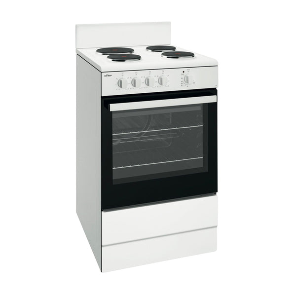 Chef CFE532WB 54cm Electric Non Fan Forced Stove