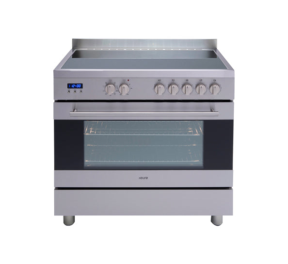 Euro Appliances EV900EESX 90cm Electric Freestanding Oven/Stove