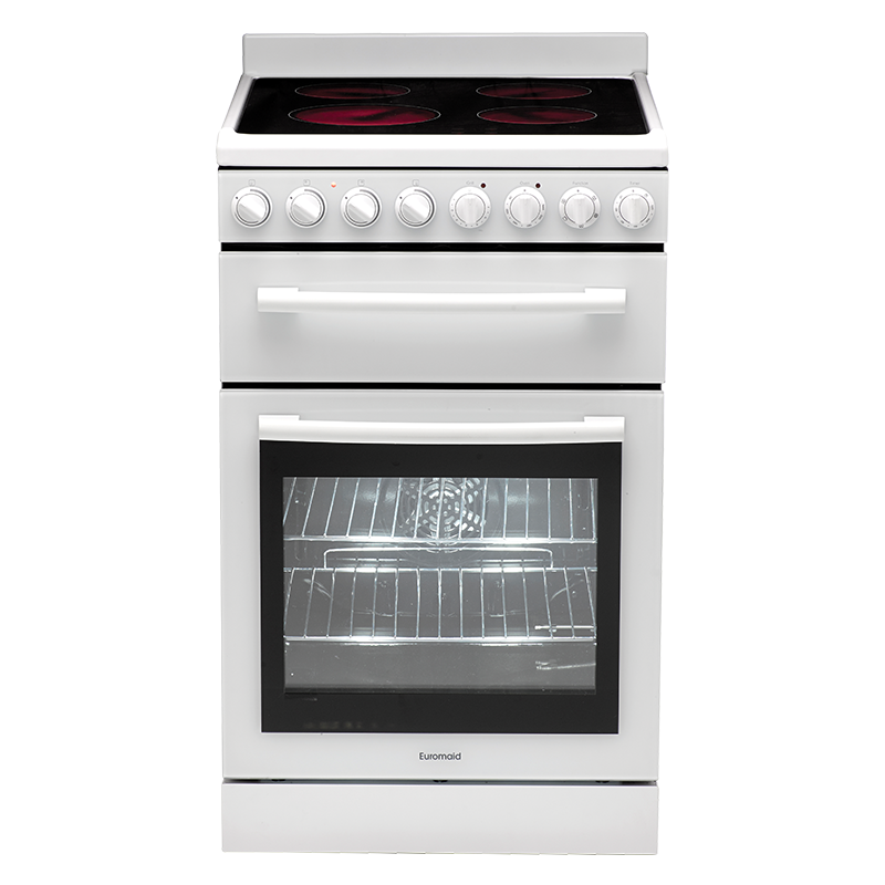 Euromaid Electric Oven + Solid Cooktop | F54CW