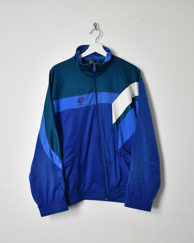 Lotto Tracksuit Top - Medium - Domno Vintage 90s, 80s, 00s Retro and Vintage Clothing