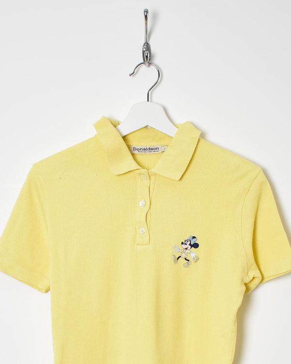 Disney Women's Polo Shirt - Large - Domno Vintage 90s, 80s, 00s Retro and Vintage Clothing