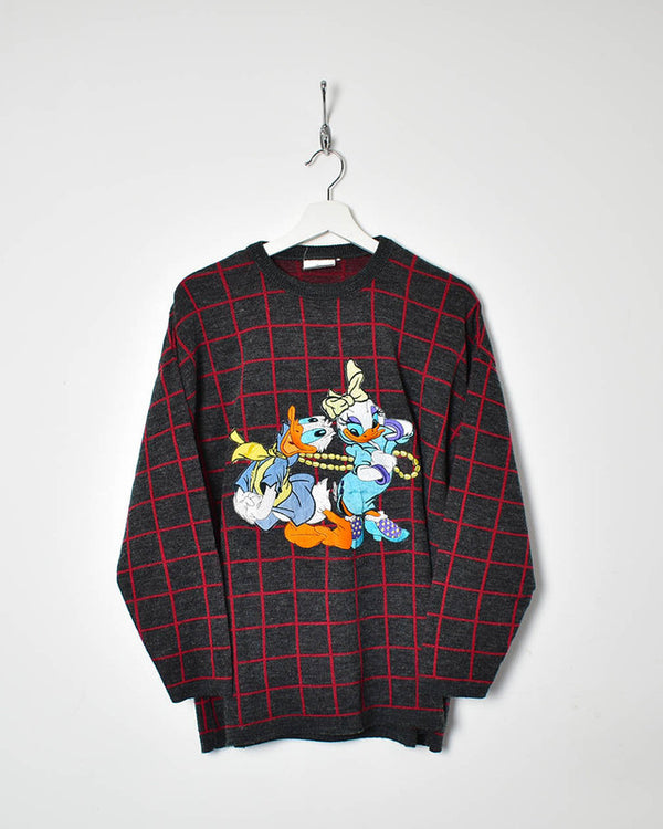 Donald Duck Sweatshirt - Medium - Domno Vintage 90s, 80s, 00s Retro and Vintage Clothing