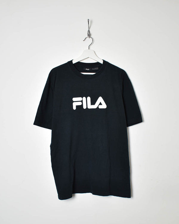 Fila T-Shirt - X-Large - Domno Vintage 90s, 80s, 00s Retro and Vintage Clothing