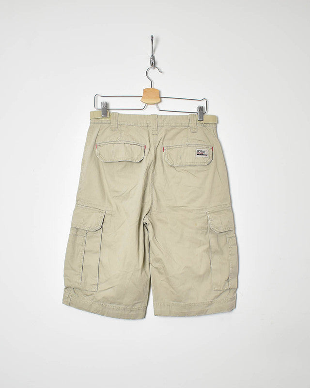 Tommy Hilfiger Cargo Shorts - Medium - Domno Vintage 90s, 80s, 00s Retro and Vintage Clothing