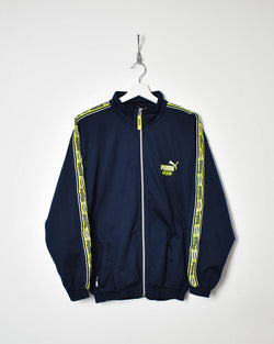 Puma King Tracksuit Top - Medium - Domno Vintage 90s, 80s, 00s Retro and Vintage Clothing