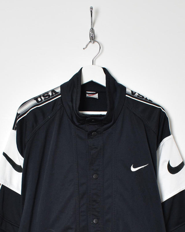 Nike Short Sleeve Tracksuit Top - X-Large - Domno Vintage 90s, 80s, 00s Retro and Vintage Clothing