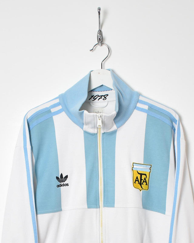 Adidas Argentina Tracksuit Top - X-Large - Domno Vintage 90s, 80s, 00s Retro and Vintage Clothing
