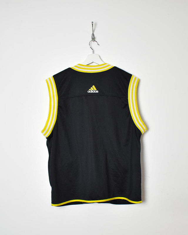 Adidas Sleeveless Tracksuit Top - Medium - Domno Vintage 90s, 80s, 00s Retro and Vintage Clothing