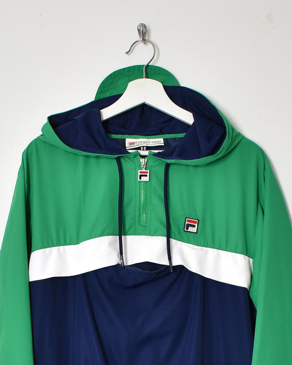 Fila 1/4 Zip Jacket - Large - Domno Vintage 90s, 80s, 00s Retro and Vintage Clothing