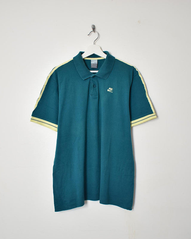 Nike Polo Shirt - Large - Domno Vintage 90s, 80s, 00s Retro and Vintage Clothing