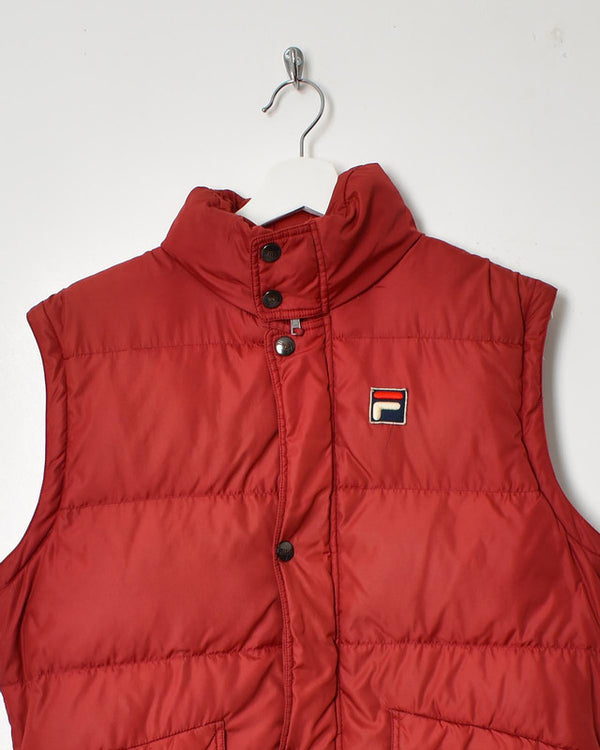 Fila Gilet - Small - Domno Vintage 90s, 80s, 00s Retro and Vintage Clothing