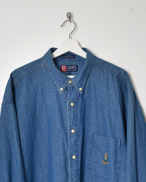 Chaps Ralph Lauren Shirt - X-Large - Domno Vintage 90s, 80s, 00s Retro and Vintage Clothing