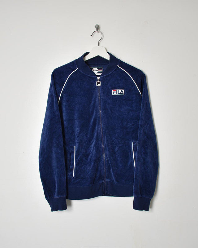 Fila Velour Full Tracksuit - Small - Domno Vintage 90s, 80s, 00s Retro and Vintage Clothing