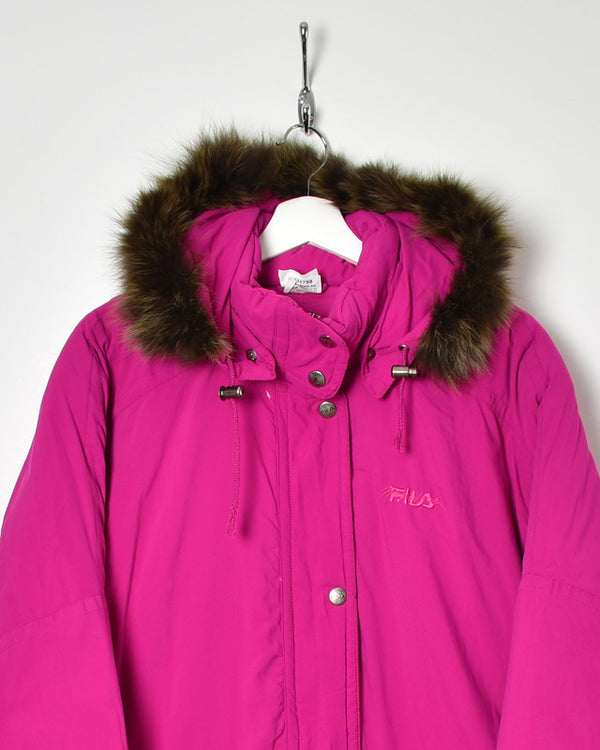 Fila Magic Line Women's Parka Coat - X-Large - Domno Vintage 90s, 80s, 00s Retro and Vintage Clothing