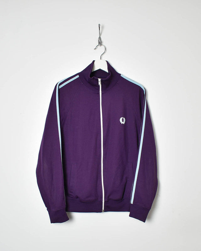 Fred Perry Tracksuit Top - Small - Domno Vintage 90s, 80s, 00s Retro and Vintage Clothing
