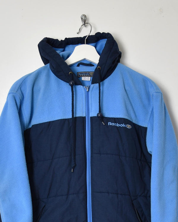 Reebok Jacket Fleece - X-Small - Domno Vintage 90s, 80s, 00s Retro and Vintage Clothing