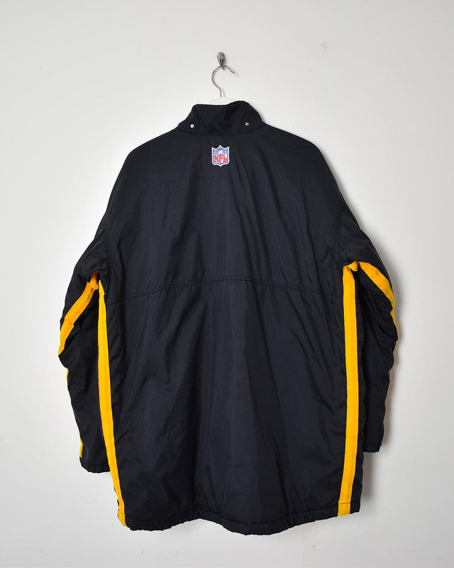 Nike Steelers Coat - Large - Domno Vintage 90s, 80s, 00s Retro and Vintage Clothing