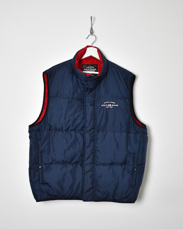 Polo Jeans Ralph Lauren Gilet - X-Large - Domno Vintage 90s, 80s, 00s Retro and Vintage Clothing