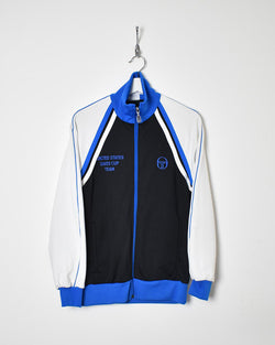 Sergio Tacchini Tracksuit Top - Small - Domno Vintage 90s, 80s, 00s Retro and Vintage Clothing