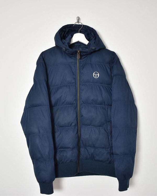 Sergio Tacchini Down Jacket - Medium - Domno Vintage 90s, 80s, 00s Retro and Vintage Clothing