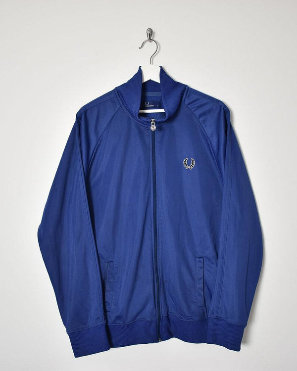 Fred Perry Tracksuit Top - X-Large - Domno Vintage