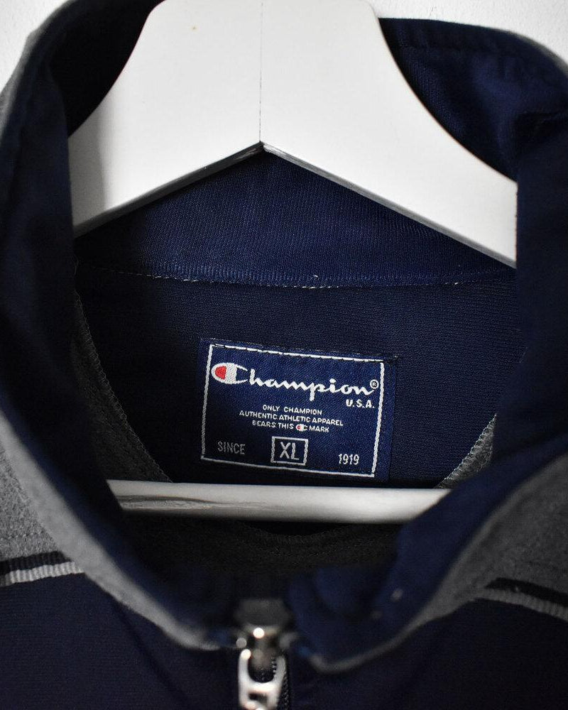 Champion Tracksuit Top - X-Large - Domno Vintage 90s, 80s, 00s Retro and Vintage Clothing