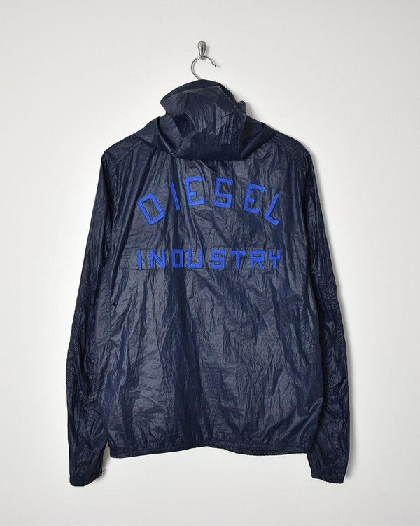 Diesel Industry RainJacket - Medium - Domno Vintage 90s, 80s, 00s Retro and Vintage Clothing