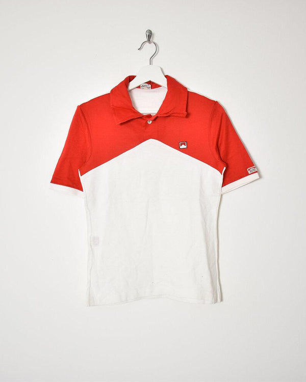 Malbro Polo - Small - Domno Vintage 90s, 80s, 00s Retro and Vintage Clothing