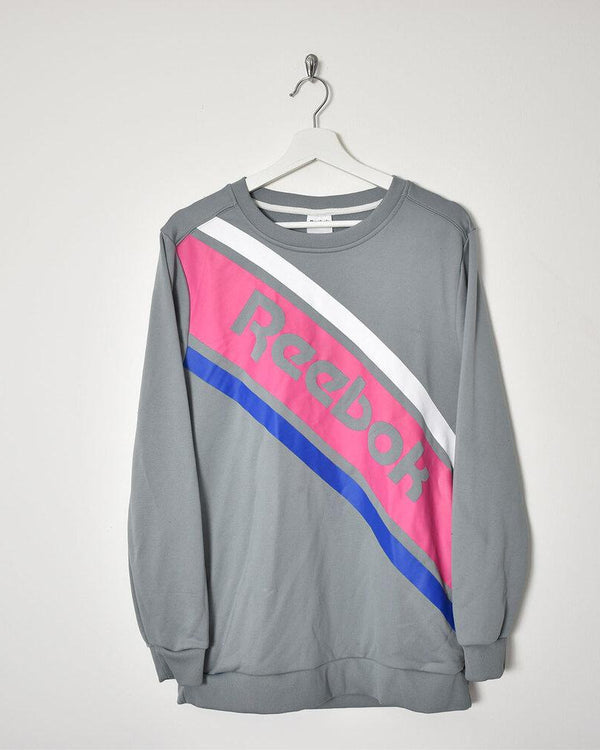 Reebok Sweatshirt - Small - Domno Vintage 90s, 80s, 00s Retro and Vintage Clothing
