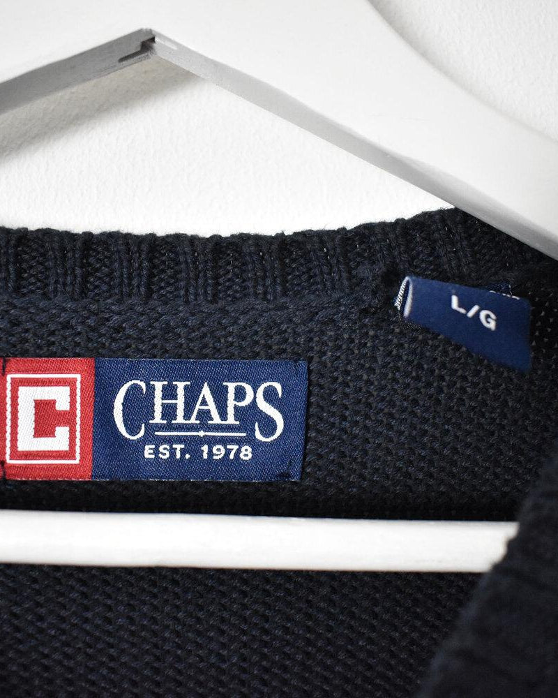 Chaps Ralph Lauren Knitwear - Large - Domno Vintage 90s, 80s, 00s Retro and Vintage Clothing