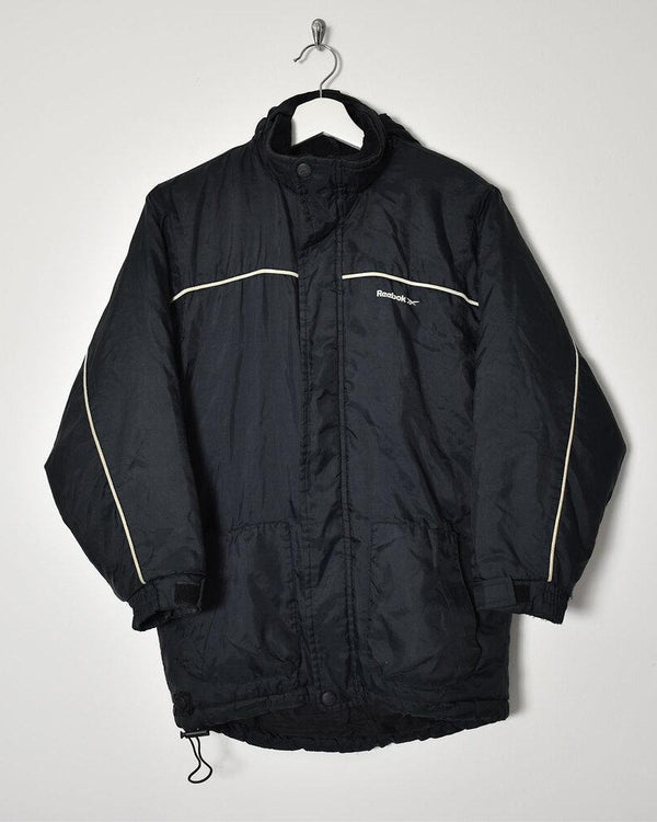 Reebok Padded Jacket - Small - Domno Vintage 90s, 80s, 00s Retro and Vintage Clothing
