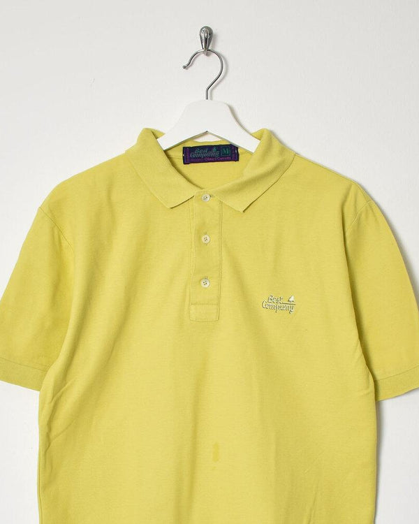 Best Company Polo Shirt - Medium - Domno Vintage 90s, 80s, 00s Retro and Vintage Clothing