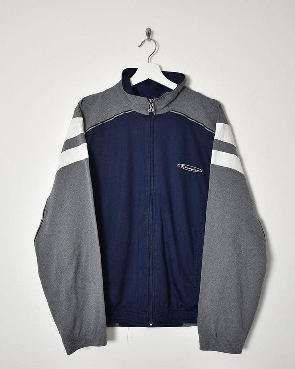 Champion Tracksuit Top - X-Large - Domno Vintage