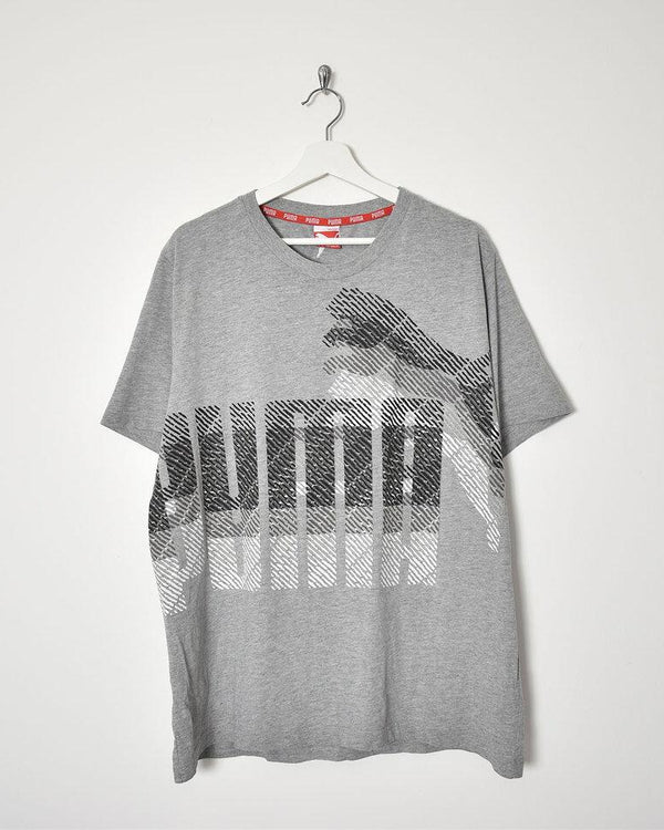 Puma T-Shirt - XX-Large - Domno Vintage 90s, 80s, 00s Retro and Vintage Clothing