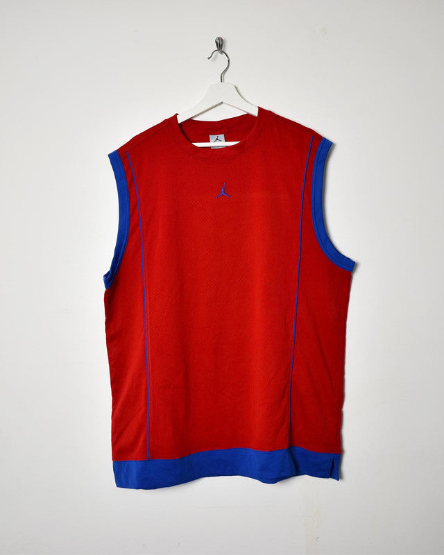 Jordan Vest - Large - Domno Vintage 90s, 80s, 00s Retro and Vintage Clothing