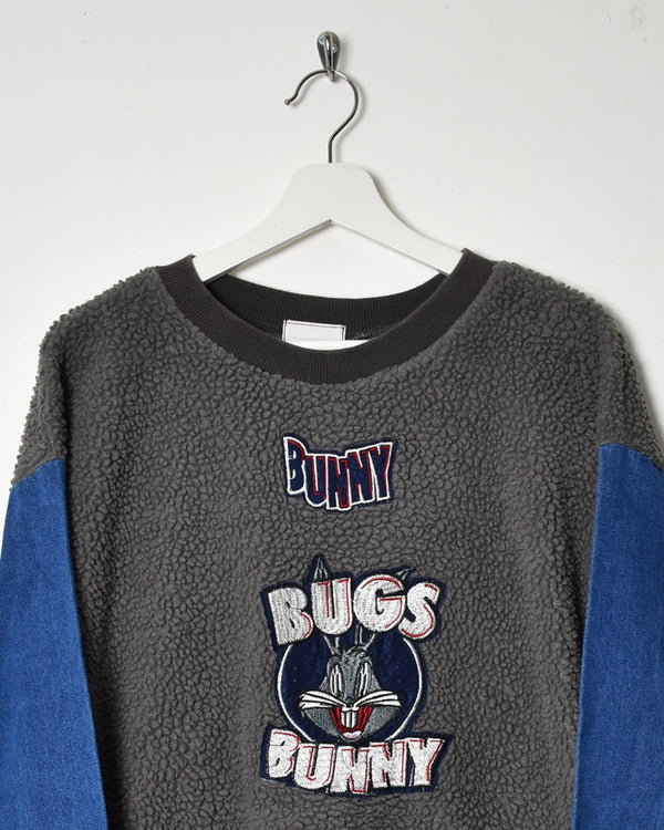Vintage Bugs Bunny Fleece - Large - Domno Vintage 90s, 80s, 00s Retro and Vintage Clothing