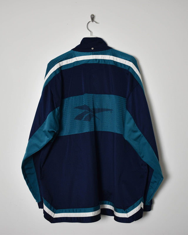 Reebok Tracksuit Top - XX-Large - Domno Vintage 90s, 80s, 00s Retro and Vintage Clothing