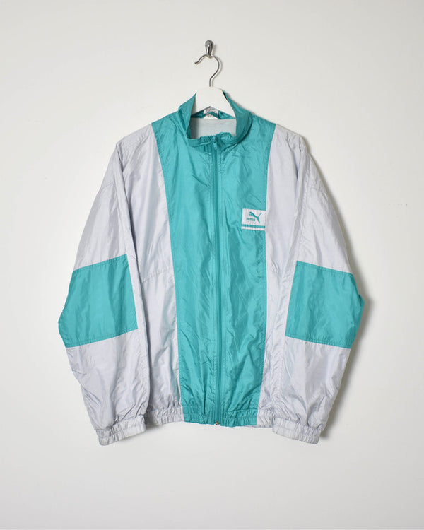 Puma Shell Jacket - Medium - Domno Vintage 90s, 80s, 00s Retro and Vintage Clothing