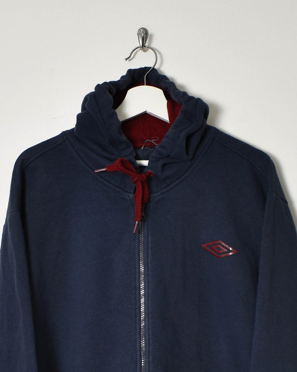 Umbro Hoodie - XX-Large - Domno Vintage 90s, 80s, 00s Retro and Vintage Clothing